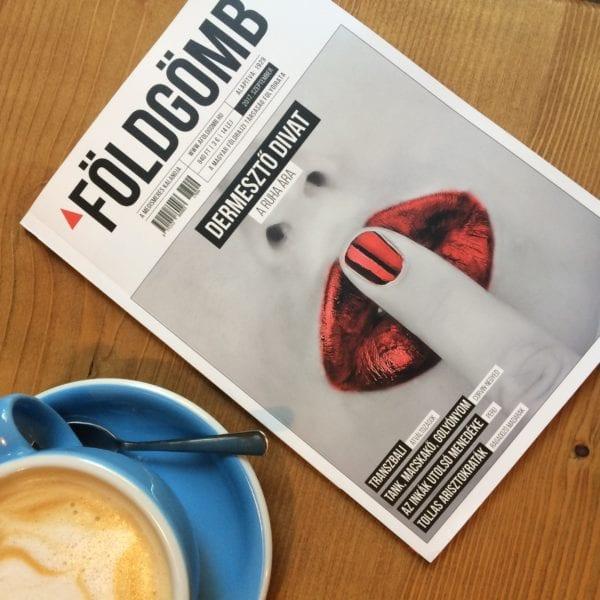 A Földgömb magazin Mengyán Eszter